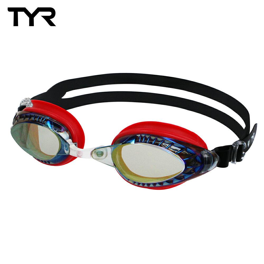 美國TYR 成人用競速電鍍泳鏡 Powerflow Metallised 台灣總代理-電鍍防霧鏡片 - 限時優惠好康折扣