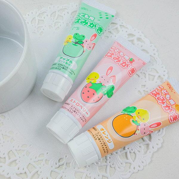 日本GC兒童牙膏40g (草莓/蘋果/橘子) 1