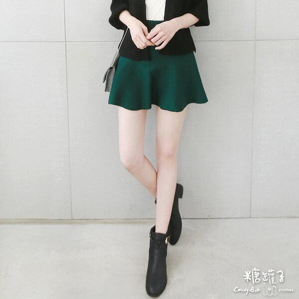 ★原價350五折175★糖罐子純色針織傘裙→現貨+預購【SS1352】 1