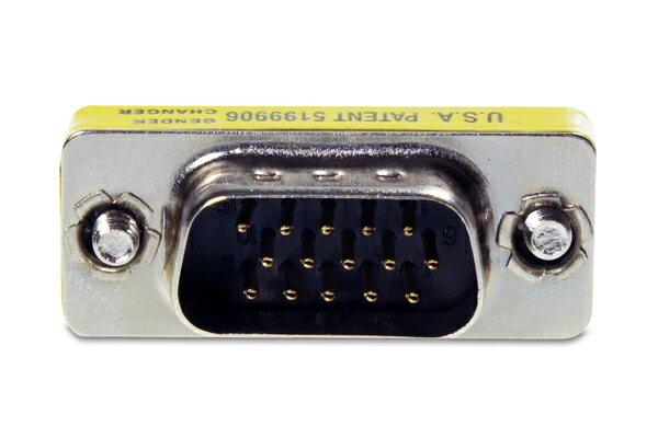 AviewS-VGA/180度轉接頭/公對公頭轉接頭 1