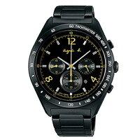 agnès b.到AGNES.B/浪漫時尚經典腕錶/黑7T12-0AP0F