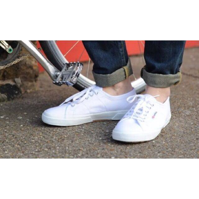 【SUPERGA】義大利國民鞋-白 4