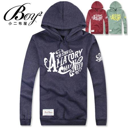 ☆BOY-2☆【NC2699】刷毛T   Amatorp連帽厚長T-3色 現+預 0