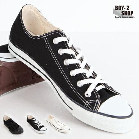 ☆BOY-2☆【NKTP45】MIT車縫線設計休閒帆布鞋-3色 現+預 0