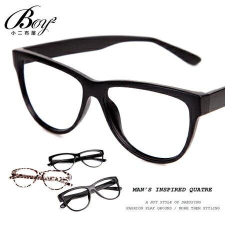 ☆BOY-2☆【NQ-WB78180】潮流黑框眼鏡-3色 現+預 0