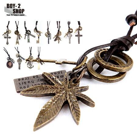 ☆BOY-2☆【NQH001】韓風復古時尚造型項鍊  現+預 0