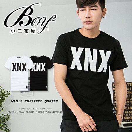 ☆BOY-2☆【PPK82060】短袖T恤韓版潮流素面休閒XNX短T 0