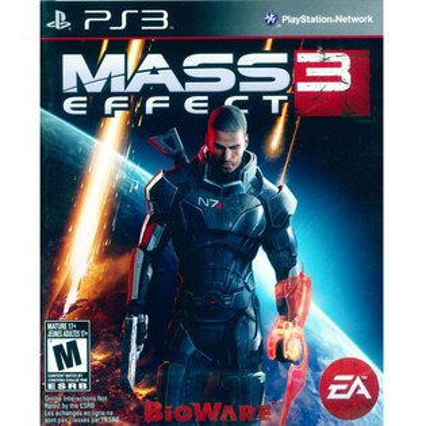 (現貨全新) PS3 質量效應 3 英文美版 Mass Effect 3
