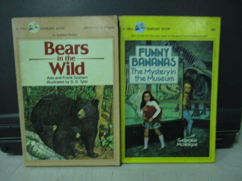 ~書寶 書T3/原文小說_LDE~Bears in the wild_Funny bana