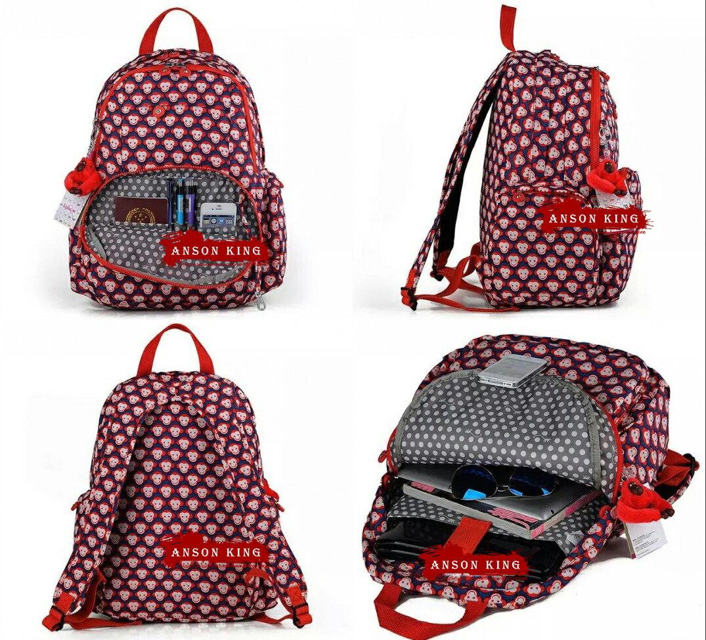 OUTLET代購【KIPLING】雙側口袋大容量旅行後背包 多款 1
