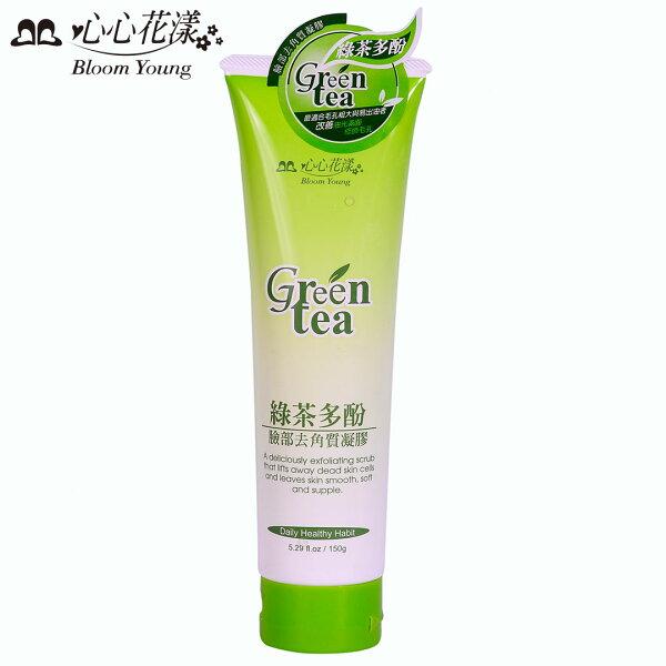 心心花漾 綠茶多酚臉部去角質凝膠 150g