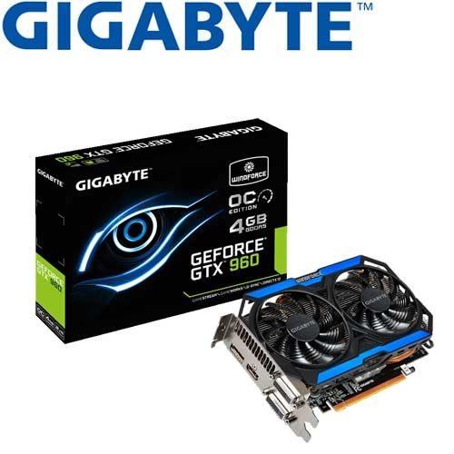 GIGABYTE技嘉 GV-N960OC-4GD 顯示卡