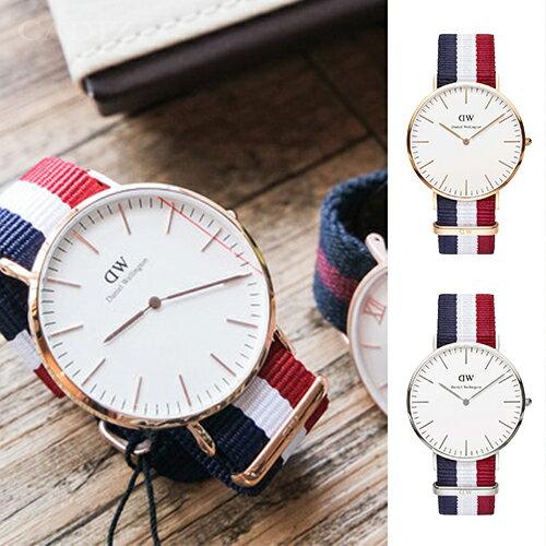 【Cadiz】【Cadiz】瑞典DW手錶 Daniel Wellington 0103DW玫瑰金0203DW銀 Cambridge 40mm [代購/ 現貨] 0