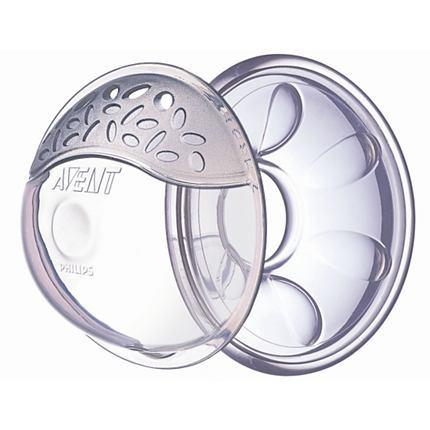 英國【PHILIPS AVENT】超舒柔矽膠胸部護罩(6pes)