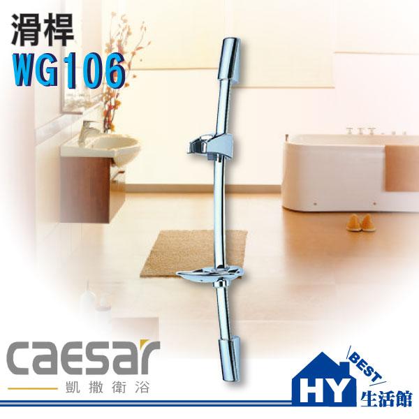 Caesar凱撒衛浴WG106滑桿【SPA淋浴用升降滑桿】《HY生活館》水電材料專賣店