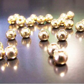 14K保色金珠 5mm DIY項鍊/手鏈圓珠配件