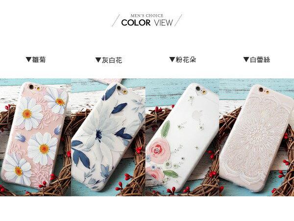 ☆BOY-2☆【N4056】小清新手繪花手機殼 iPhone6 6plus 2