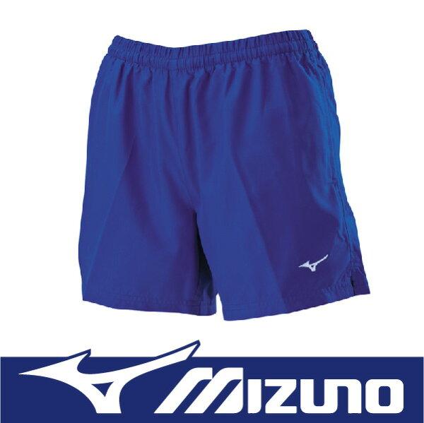 【出清65折!】萬特戶外運動 MIZUNO 美津濃 J2TB625922 女路跑褲 長版 口袋設計 基本款 舒適 藍色