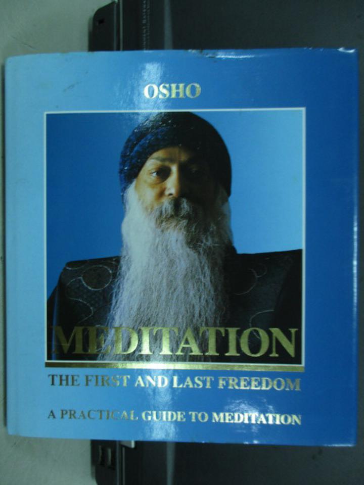 ~書寶 書T1/宗教_IQU~Meditation_Osho