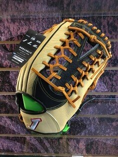 【軟式】JJS軟式摔花牛革12.75吋通用即戰型棒球壘球手套