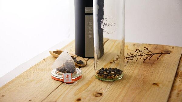 【茶立方】WECK冷泡瓶-黑豆牛蒡