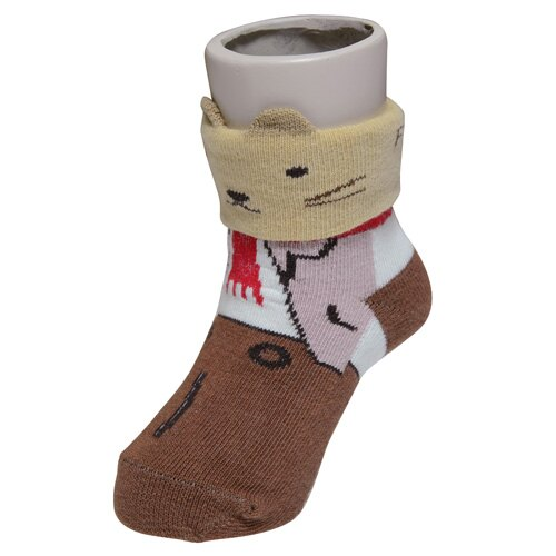 『121婦嬰用品館』狐狸村 哈維鼠造型短筒襪 (9-11cm) 2