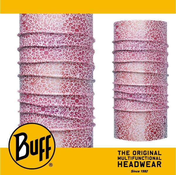 BUFF 西班牙魔術頭巾 COOLMAX涼感抗UV系列 [粉白繁花] BF111435-619