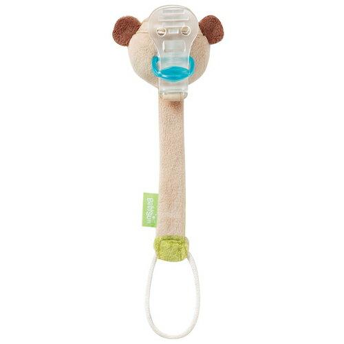 babyFEHN 芬恩 - 叢林夥伴小猴布偶奶嘴鍊 2