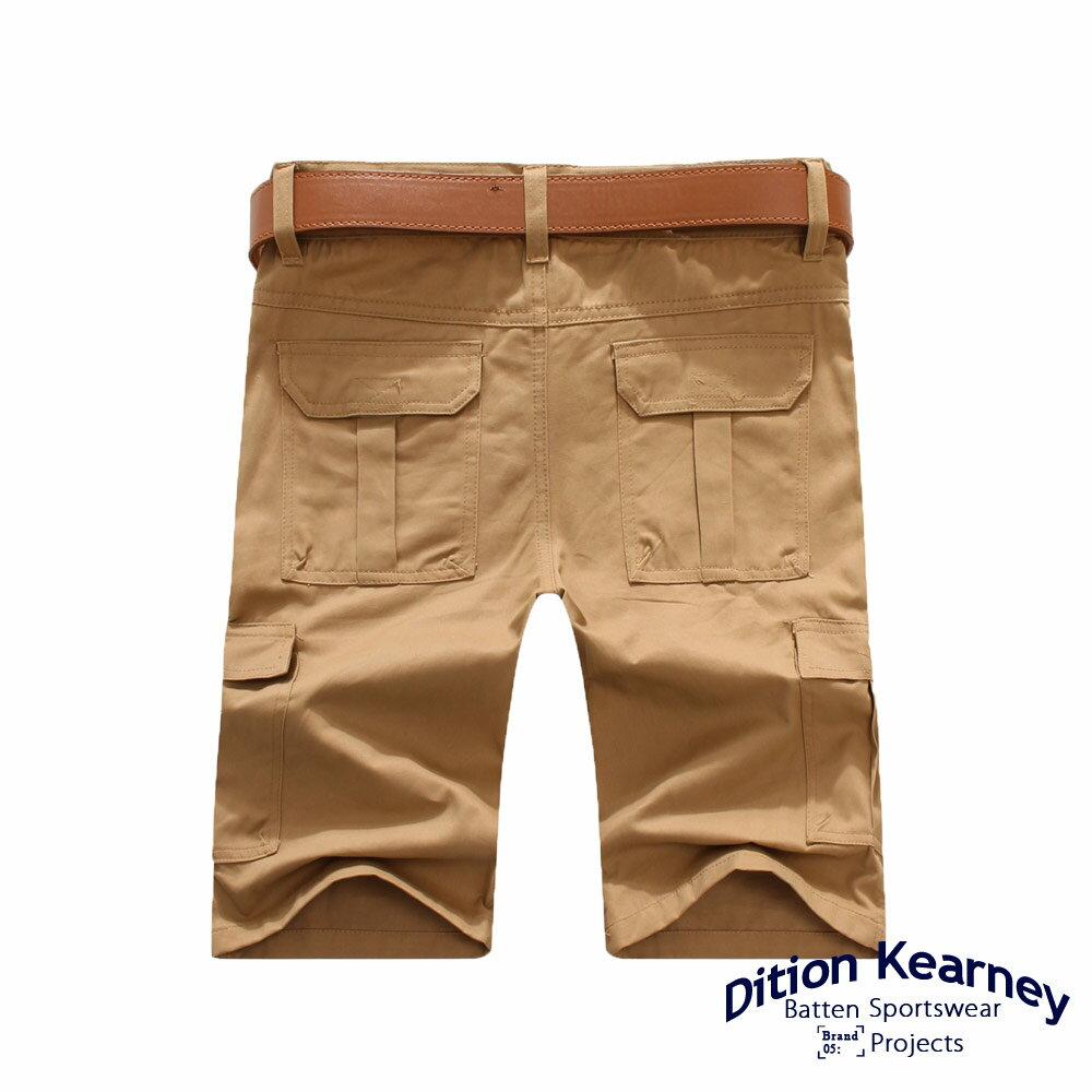DITION   日系機能口袋outdoor工作短褲 素色 滑板 2