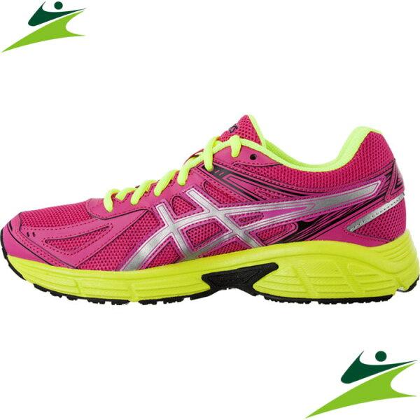 元禾)) 6折出清-2015 ASICS 亞瑟士 女慢跑鞋 PATRIOT 7 健康慢跑 T4D6N-2093
