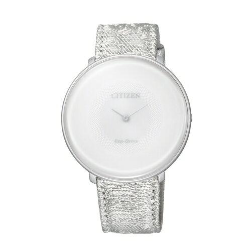 CITIZEN Eco~Drive 瓏月系列女仕鈦優雅腕錶 EG7000~01A