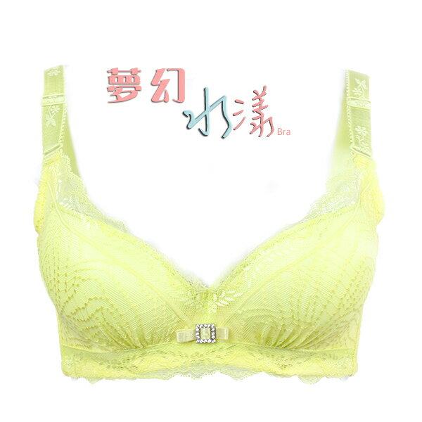 【夢蒂兒】夢幻水漾集中成套內衣(春芽綠) 2