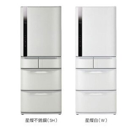 日立 HITACHI 519公升變頻五門電冰箱 RS-53EMJ