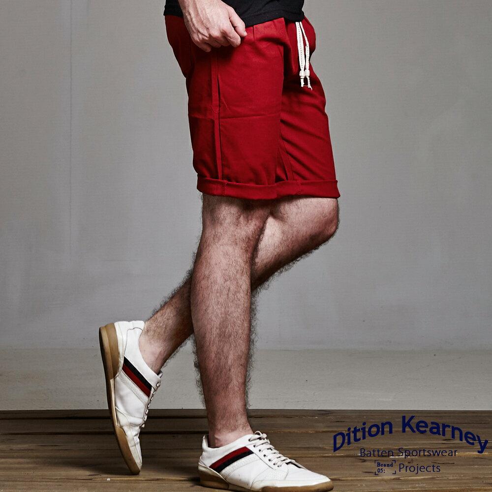 DITION SHOP 韓系剪裁抽繩短褲哈倫褲 上寬下窄 民俗風串珠 4
