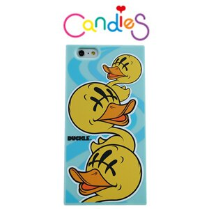 ~Candies~BBCDS x KAZZROCK 聯名款潮流黃鴨^(藍^)~IPhone
