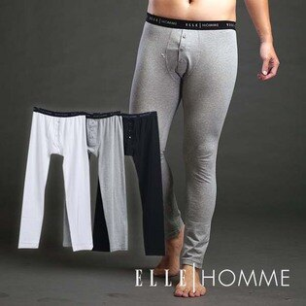 ELLE 彈性伸縮保暖衛生褲/保暖褲-三色 E85109【中揚精品】(百貨專櫃正品)