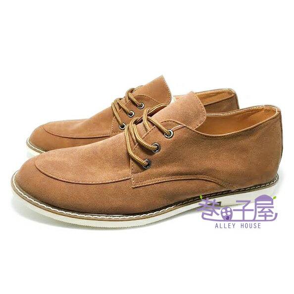 【巷子屋】JIMMY POLO 男款韓風車縫底軟墊休閒鞋 [9122] 棕 MIT台灣製造 超值價$298