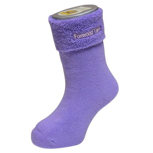 『121婦嬰用品館』狐狸村 保暖透氣毛巾長筒襪(9-11cm) 1