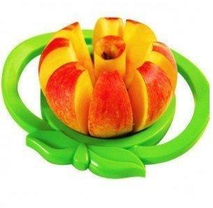 不鏽鋼切果器 蘋果切片器 削蘋果器 蘋果切果器 ☆真愛香水★