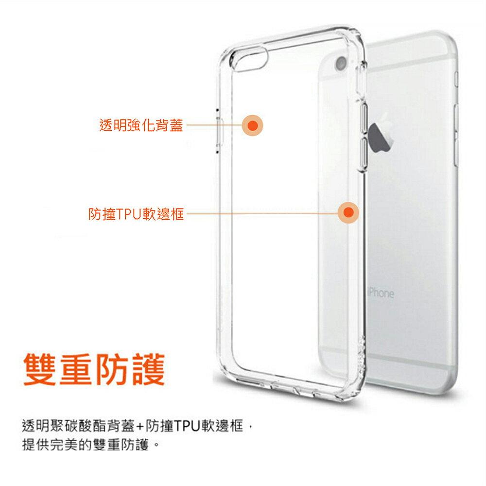 OPPO R9 Plus 6 吋高質感雙料材質 透明TPU+PC手機殼/保護套 2