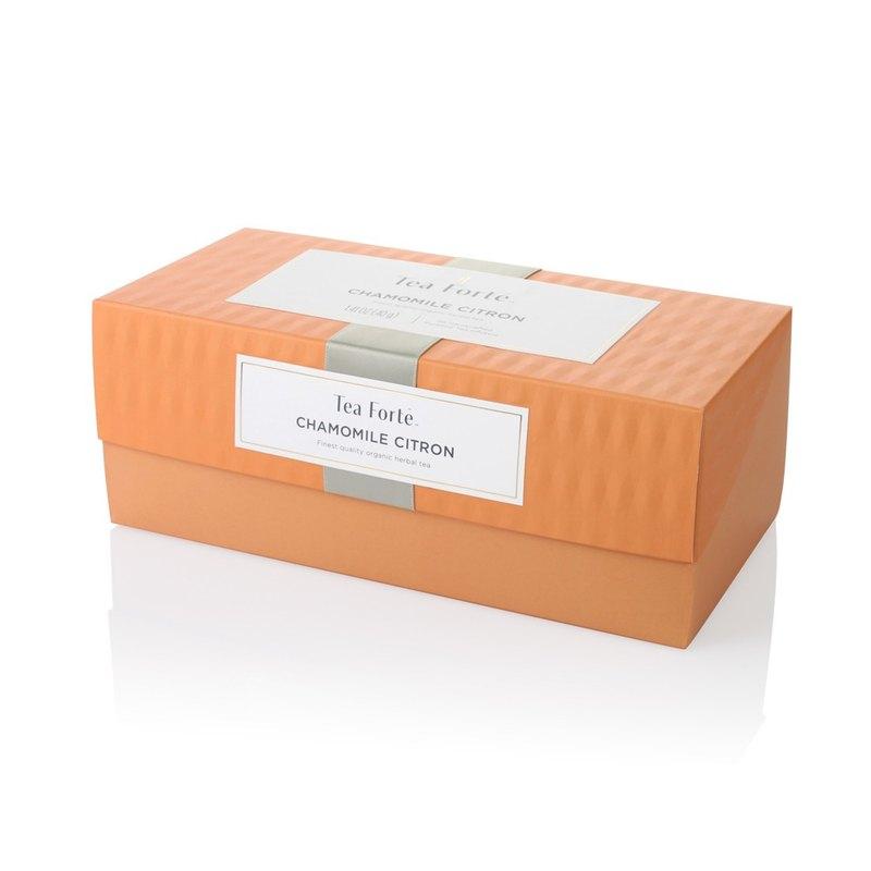 Tea Forte 20入金字塔型絲質茶包 - 洋甘菊香櫞茶 Presentation Box - Chamomile Citron 0