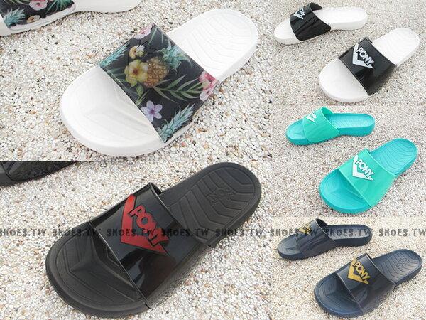 Shoestw【62U1SL】PONY 拖鞋 輕便拖 海灘拖 男女尺寸都有 一片式 好穿不咬腳