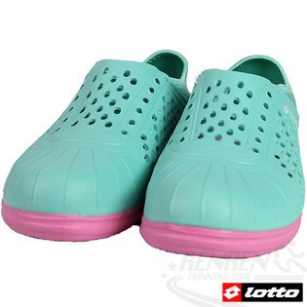 LOTTO 洞感輕便鞋 輕量透氣洞洞鞋(薄荷綠)。LT5AWS2705