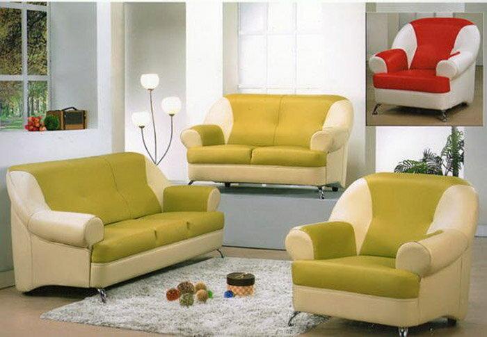 ~尚品傢俱~ 208~02 四季乳膠皮兩人沙發 家庭沙發 客廳沙發 會客沙發 L~Shap