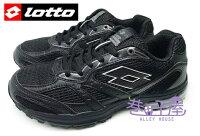 慢跑_路跑周邊商品推薦到【巷子屋】義大利第一品牌-LOTTO樂得 女款ZENITH雙密度避震透氣超輕量運動慢跑鞋 [2660] 黑 超值價$590