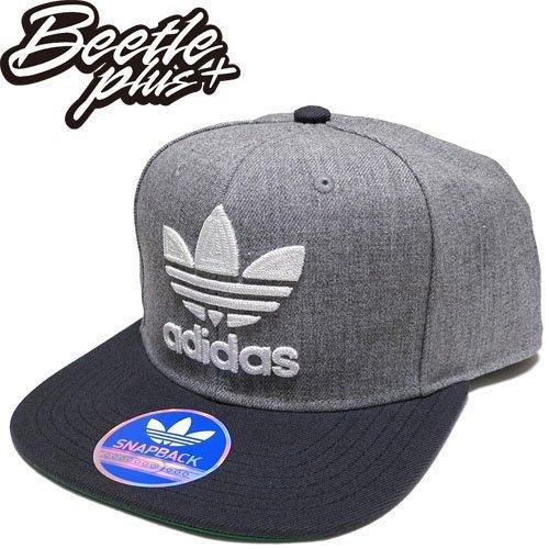 超熱賣 BEETLE ADIDAS ORIGINALS THRASHER 灰 黑 後扣棒球帽 貝克漢 SNAPBACK AN9071 NT-96 0