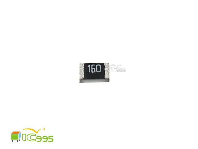(ic995) 0805 貼片電阻 16Ω 5% 電阻 電子材料 壹包20入 #004992