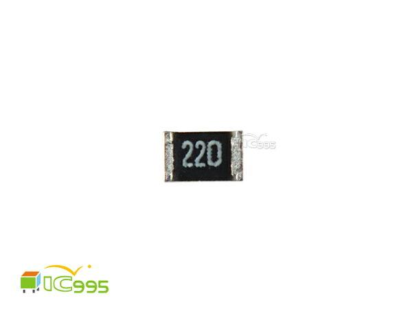 (ic995) 0805 貼片電阻 22Ω 5% 電阻 電子材料 壹包20入 #005104