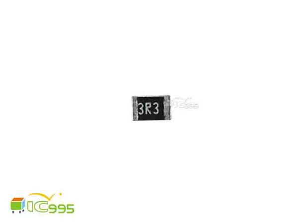 (ic995) 0805 貼片電阻 3.3Ω 5% 電阻 電子材料 壹包20入 #004978