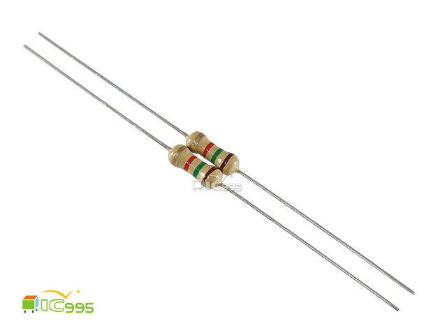 (ic995) 插板式線性電阻 1/4W 1.5KΩ ±5% 色環電阻 碳膜電阻 壹包20入 #13529